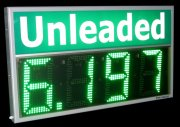Gas Prices Mix LED Display