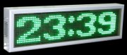 LED display green 2 lines full matrix