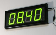 LED Timer counter verde