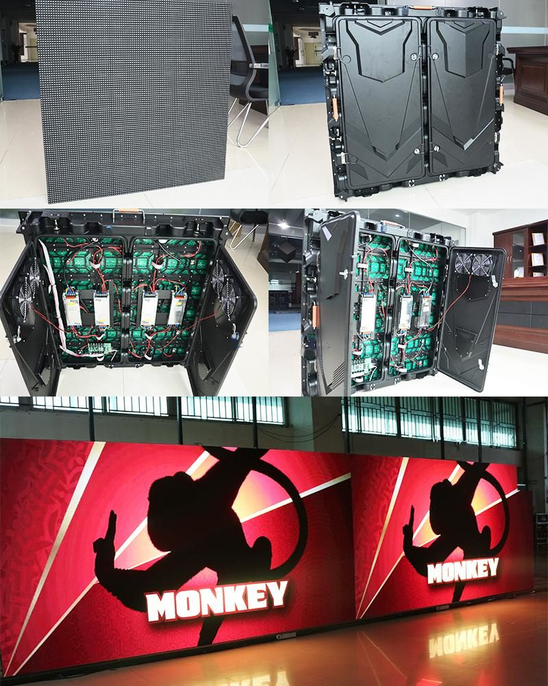 The Advantage of Standard size Full color LED Display