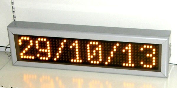 Ampere LED sign