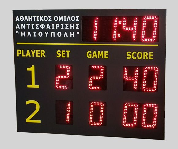 LED Tennis Scoreboard