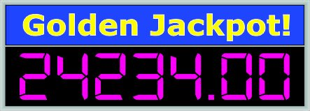 Wireless LED Jackpot Display