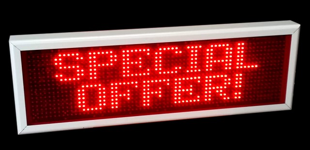 Offer LED Electronic Sign with 3 Years Warranty
