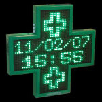 Led Pharmacy Cross 16