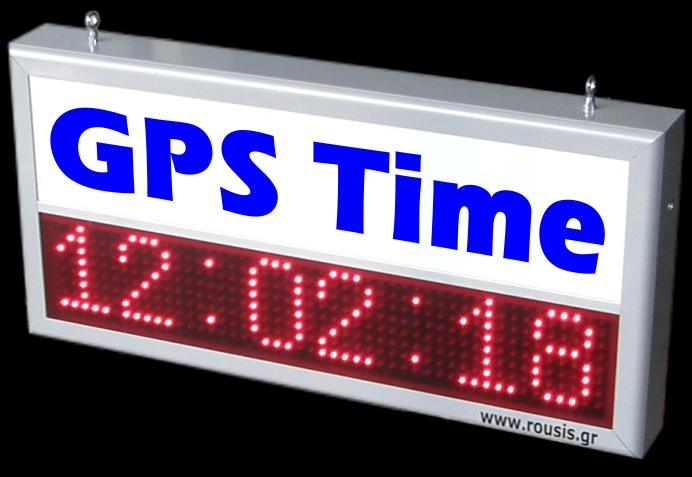GPS Time Temperature LED Display