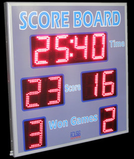 Score board voley led