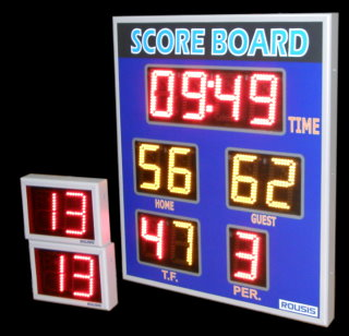 Basket scoreboard led