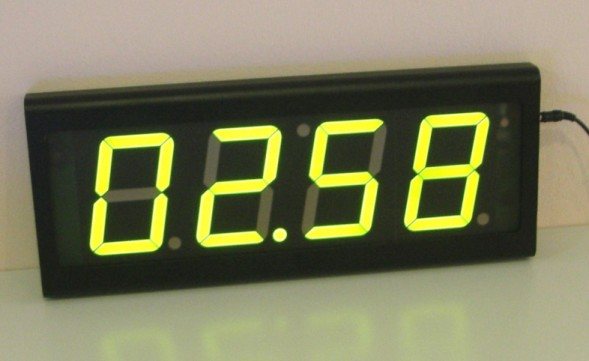 Digital Wall LED Clock indoor