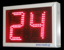 Basket shot clock LED display 24/14 sec