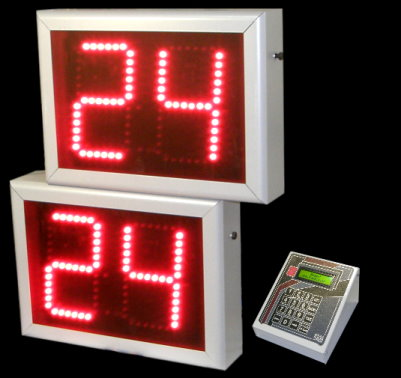 LED Basketball shoot clock 24/14 seconds