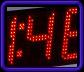 Ηλεκτρονικά ρολόγια θερμόμετρα LED