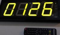 Λειτουργία Ηλεκτρονικής Κλήρωσης στο Χρονόμετρο LED