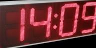 Time Temperature  64 cm