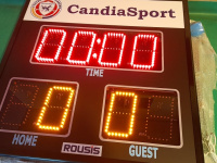 """Club Candia Sport is a pioneer using electronic boards in the """"8X8"""" and """"6X6"""" football stadiums!"""