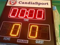 То Club Candia Sport πρωτοπορεί με ηλεκτρονικούς πίνακες στα γήπεδα «8Χ8» και «6Χ6»!