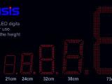 Vielzahl verfügbarer LED-Ziffern