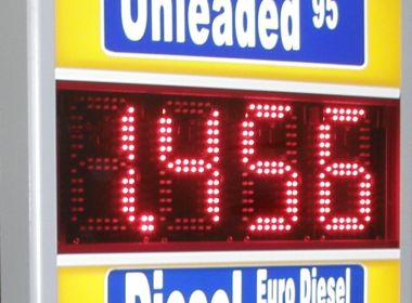 LED Gas Prices Display