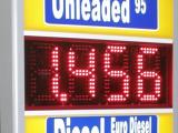 Gemischte LED-Gaspreise mit Beleuchtungsdruck