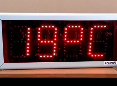 LED Display of Clock + Temperature + Timer