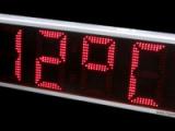 Ηλεκτρονικό ρολόι Θερμόμετρο 38cm ύψος ψηφίου