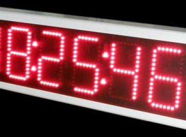 Χρονόμετρο LED 6 ψηφίων