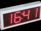 time temperature led display