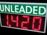 Πινακίδα LED τιμών καυσίμων unleaded