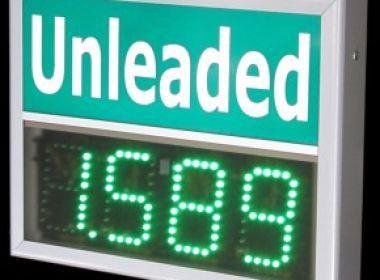 LED-Preisanzeigen für Tankstellen