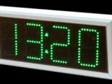 Ρολόι θερμόμετρο LED 21 cm ύψος ψηφίου