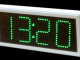 LED-Zeichen für die Außentemperatur Ziffernhöhe 21cm