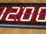Ρολόι θερμόμετρο LED εσωτερικού χώρου