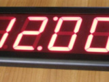 Innen Digitale Wand-LED-Uhr