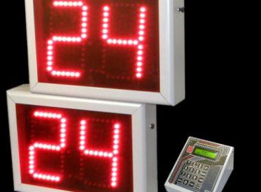 Basketball shot clock 24/14 sec