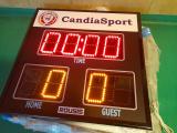 Club Candia Sport ist ein Pionier beim Einsatz elektronischer Boards in den Fußballstadien