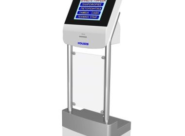 Touchscreen-Warteschlangen-Ticketautomaten Kiosk